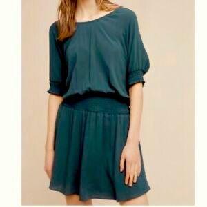 Anthropologie Floreat Azriel Corded Mini Dress